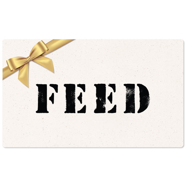 FEED Online Gift Card