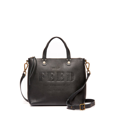 Black Eleanor Crossbody Bag
