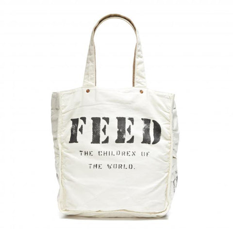 White FEED 1 Bag