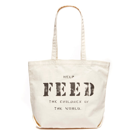 White FEED 10 Bag