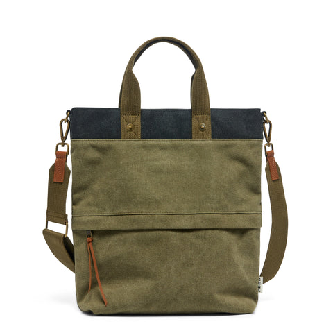 Burnished Olive Canvas Go-To Bag