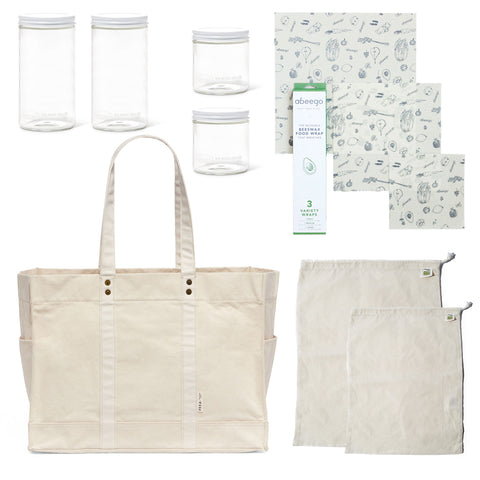 Natural FEED x Package Free: The Big Carryall Bundle