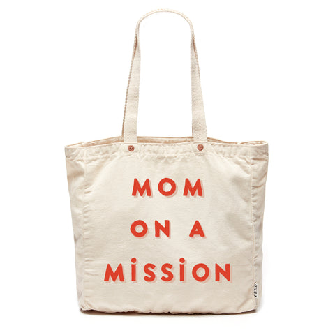 Natural Mom on a Mission Tote