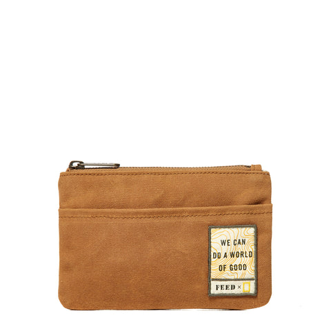 Ochre FEED x National Geographic Pouch