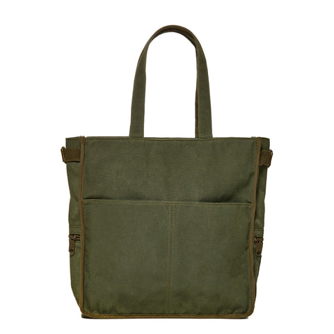 Army Green FEED x National Geographic Tote