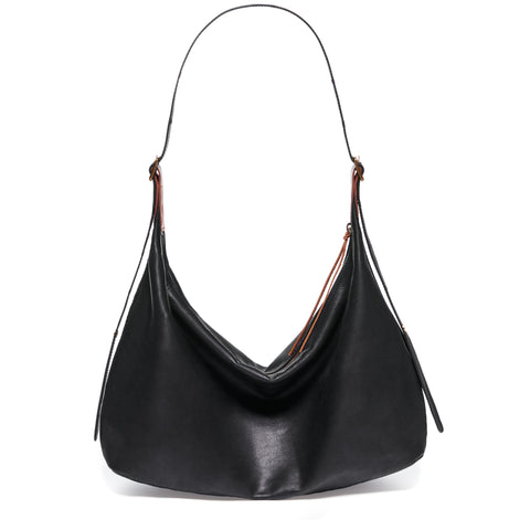 black Oversized Ava Bag