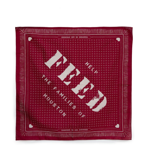 Houston FEED Relief Bandana