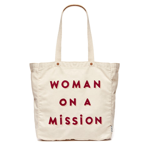 Natural Woman on a Mission Tote