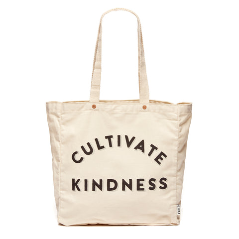 Natural Cultivate Kindness Tote