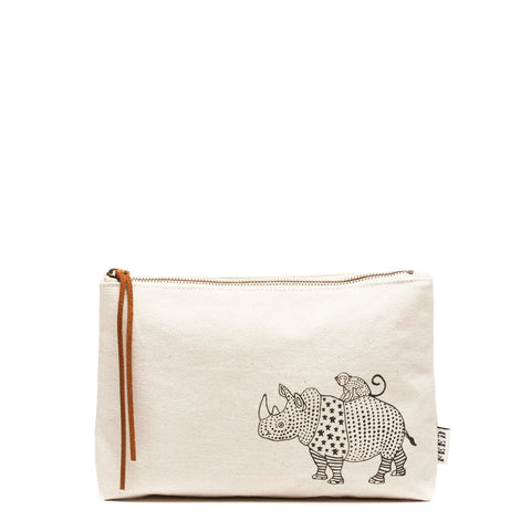 Natural Rhino Pouch