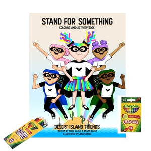 Stand For Something Coloring and Activity Book