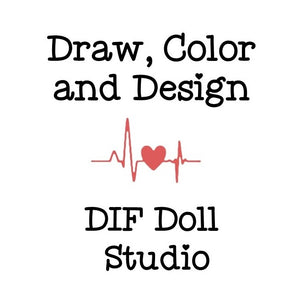 Creative Studio: Design, Color and Draw - D.I.F. Friendship Dollie
