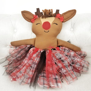 Reindeer Girl Holiday Pet (Clearance)