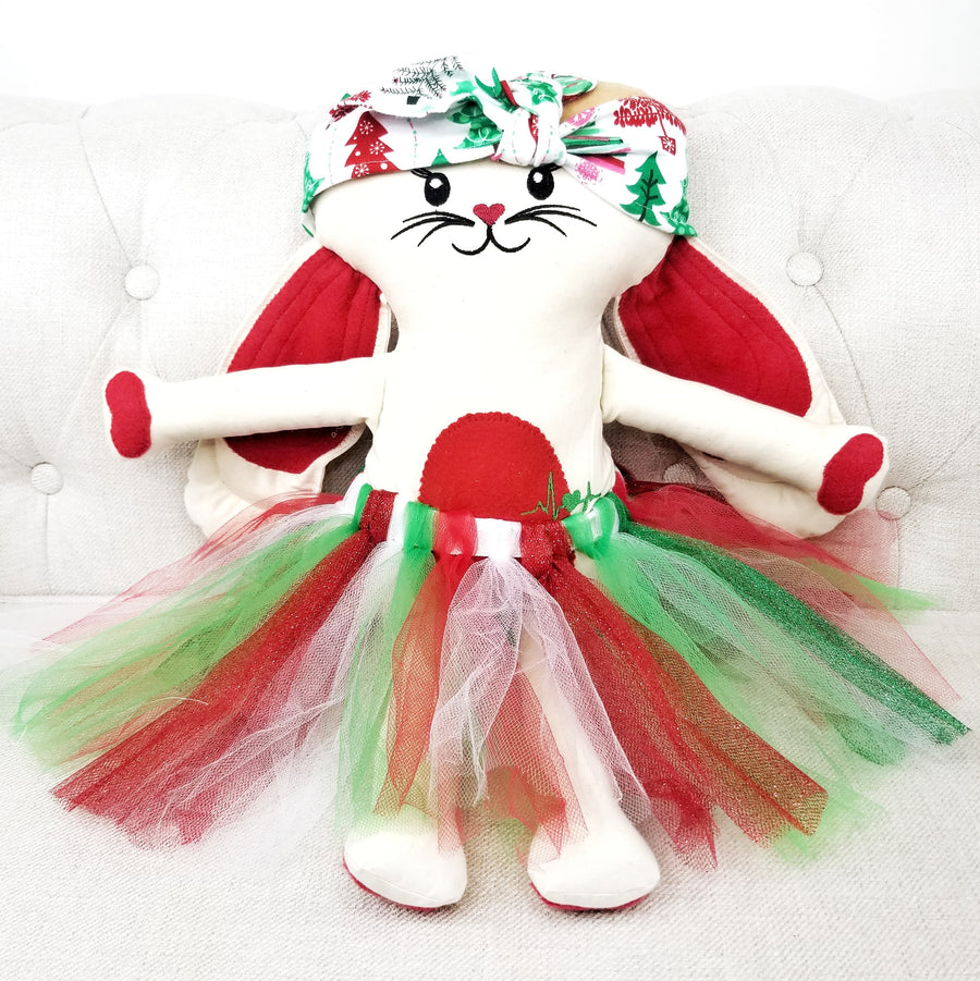 Red Holiday Friendship Bunny (Clearance)
