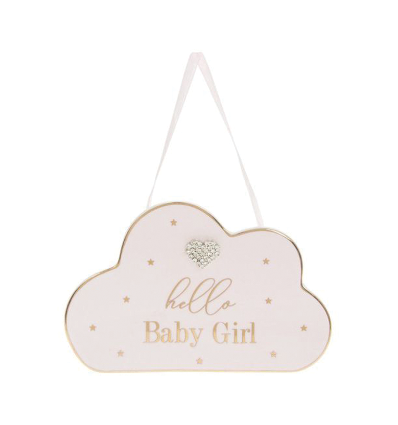 Mad Dots, Baby Girl Plaque