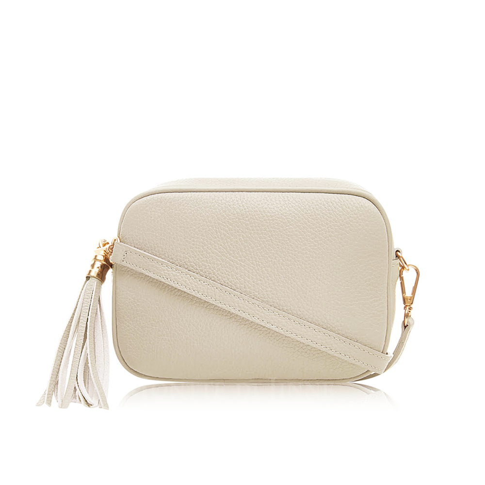 The Bella Cross Body Bag, Beige