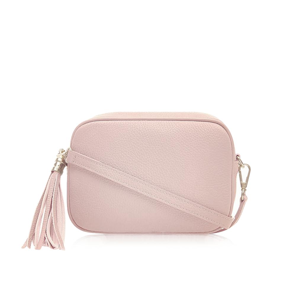 The Bella Cross Body Bag, Pressed Rose