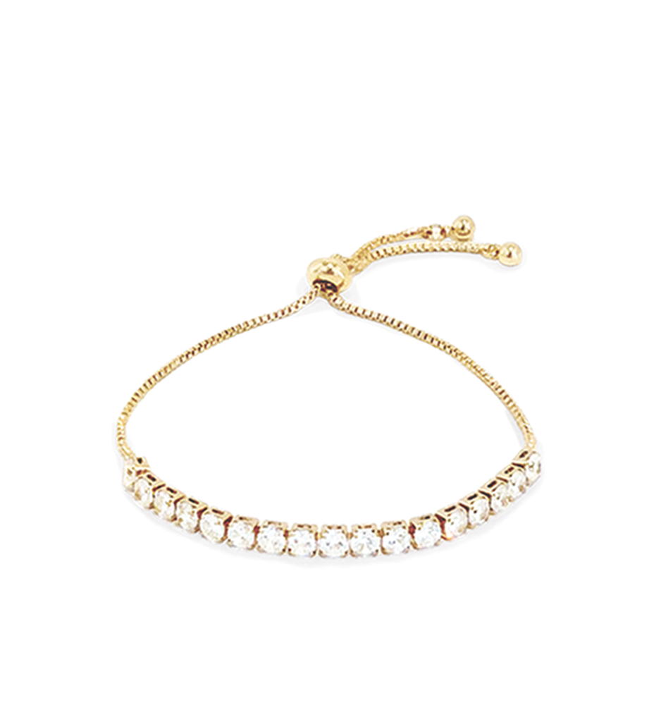 Hearts Jewellery Gold Diamond Bracelet
