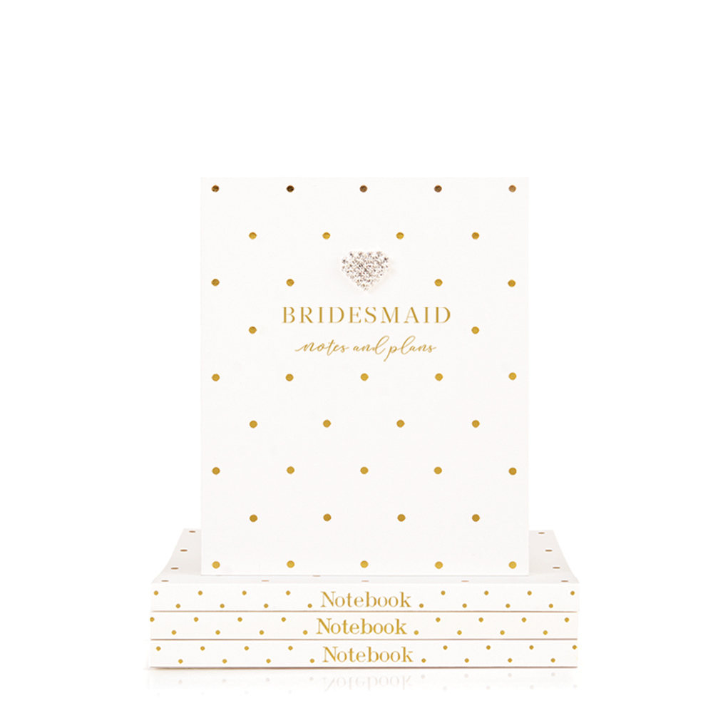 Mad Dots Small Notebook, Bridesmaid Notes & Plans