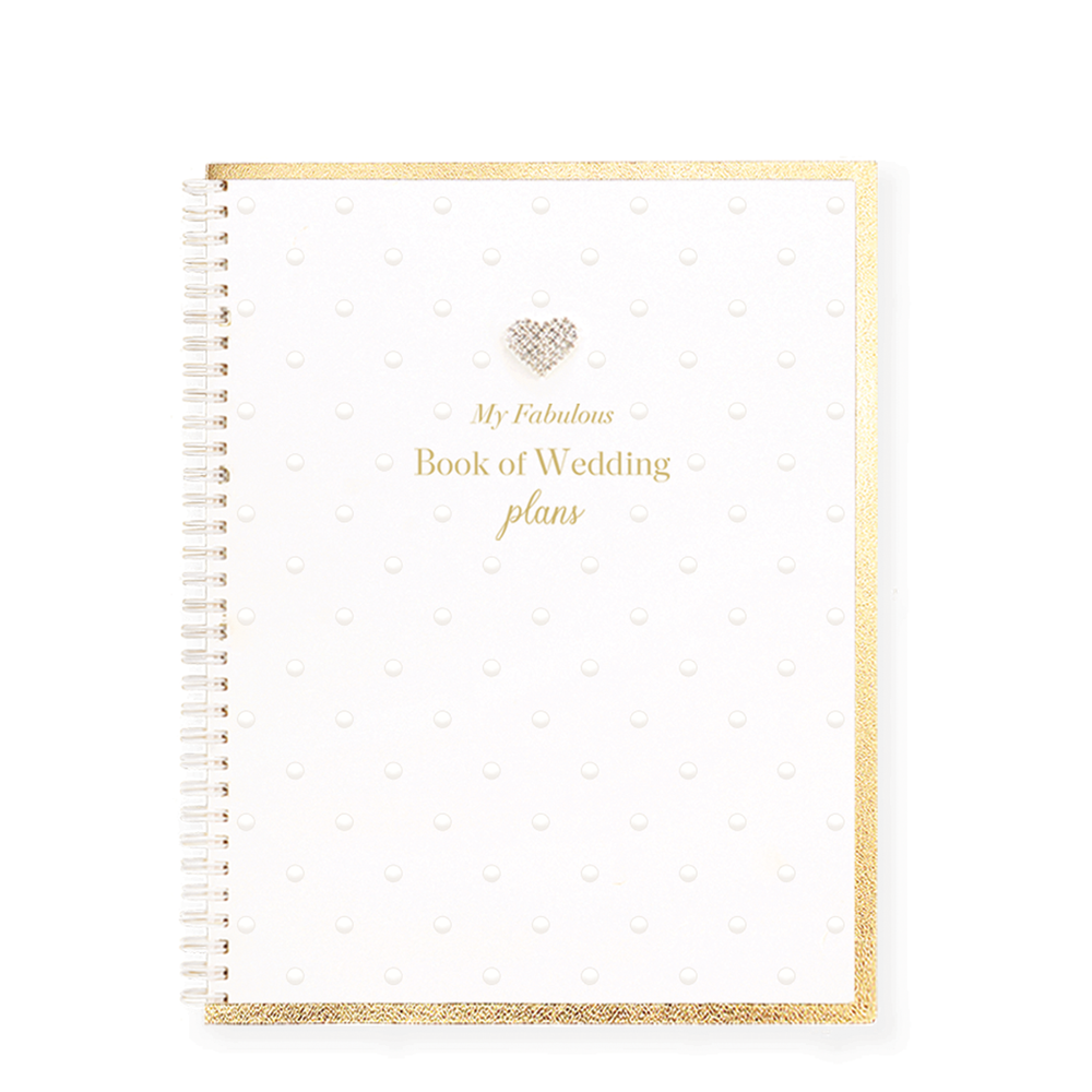 Mad Dots Large Notebook, My Fabulous Book Of Wedding Plans