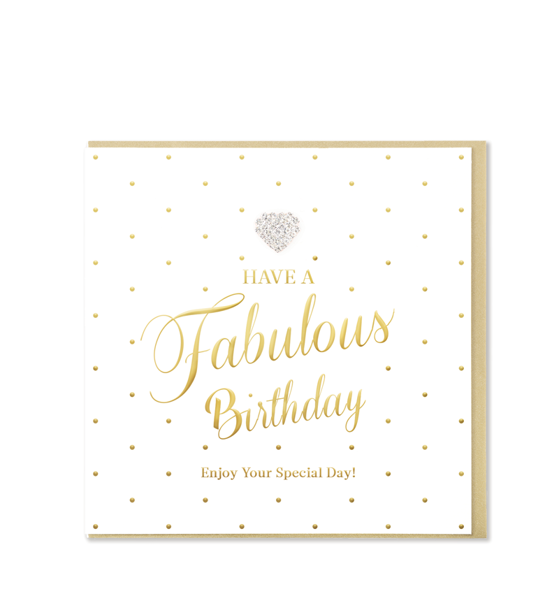 Mad Dots Greetings Card, Have A Fabulous Birthday