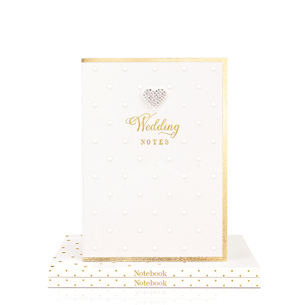 Mad Dots A5 Notebook, Wedding Notes