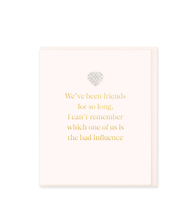 Mad Dots Greetings Card, We've Been Friends So Long