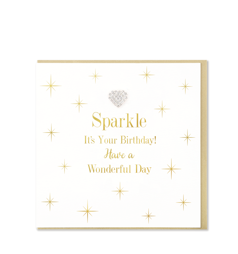 Mad Dots Greetings Card, Sparkle It's Your Birthday