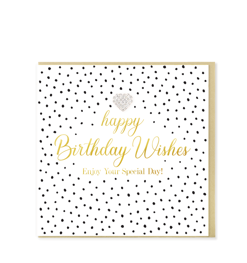 Mad Dots Greetings Card, Happy Birthday Wishes