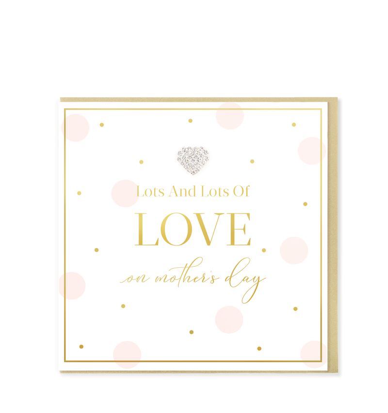 Mad Dots Greetings Card, LOVE On Mother's Day