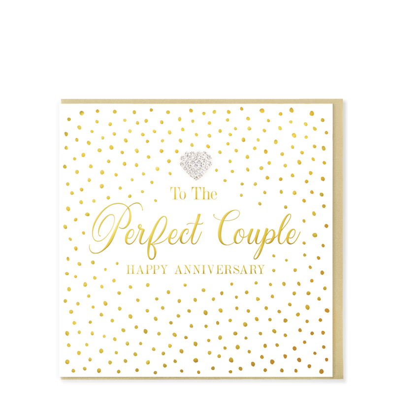 Mad Dots Greetings Card, The Perfect Couple, Anniversary