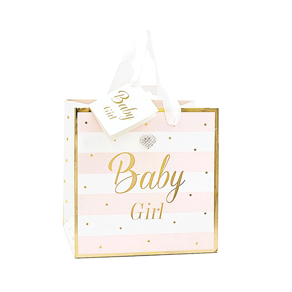 Mad Dots, Baby Girl, Small Gift Bag
