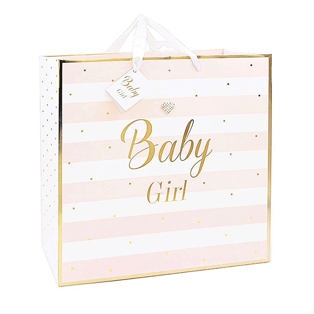 Mad Dots, Baby Girl, Large Gift Bag