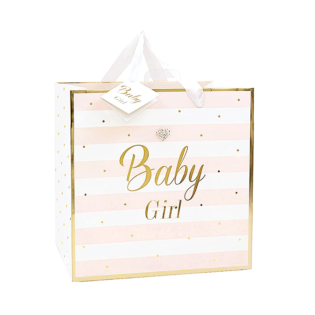 Mad Dots, Baby Girl, Medium Gift Bag