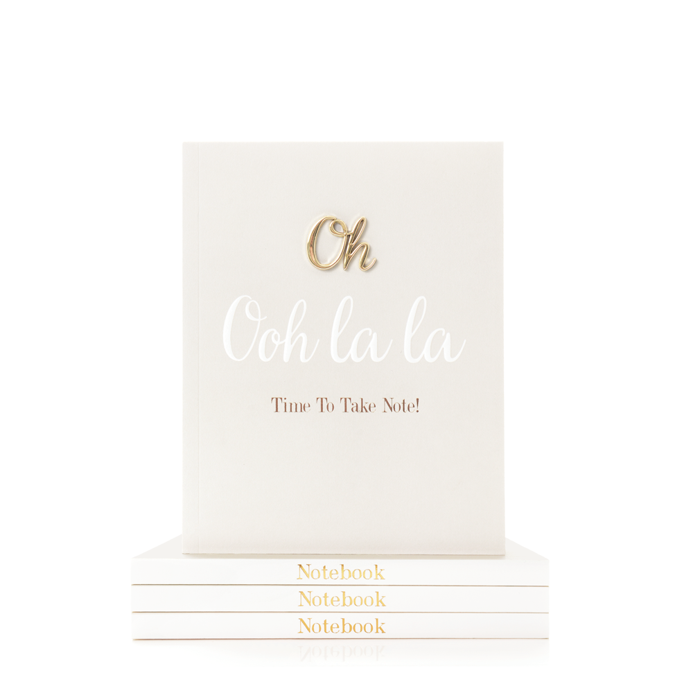 Oh So Charming Small Notebook, Oh Ooh La La