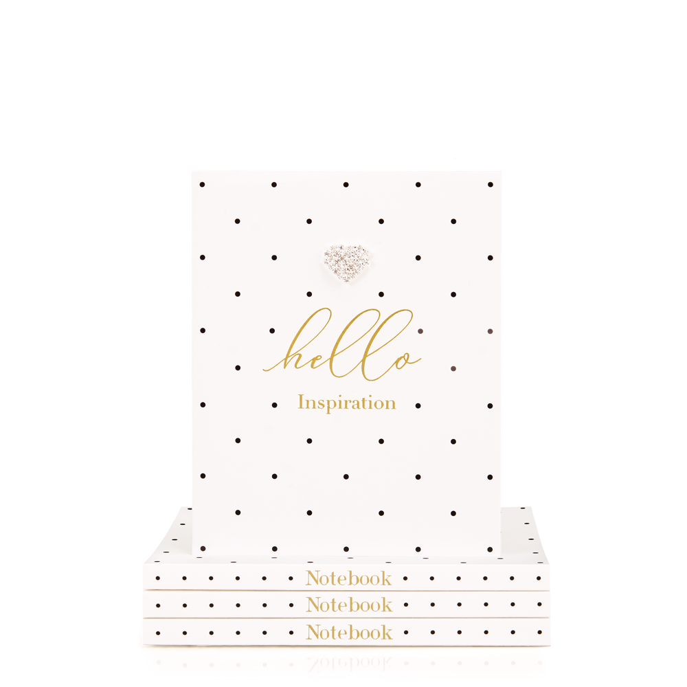 Mad Dots Small Notebook, Hello Inspiration