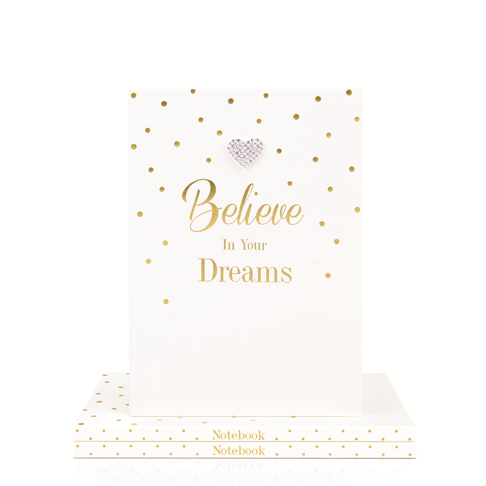 Mad Dots A5 Notebook, Believe In Your Dreams
