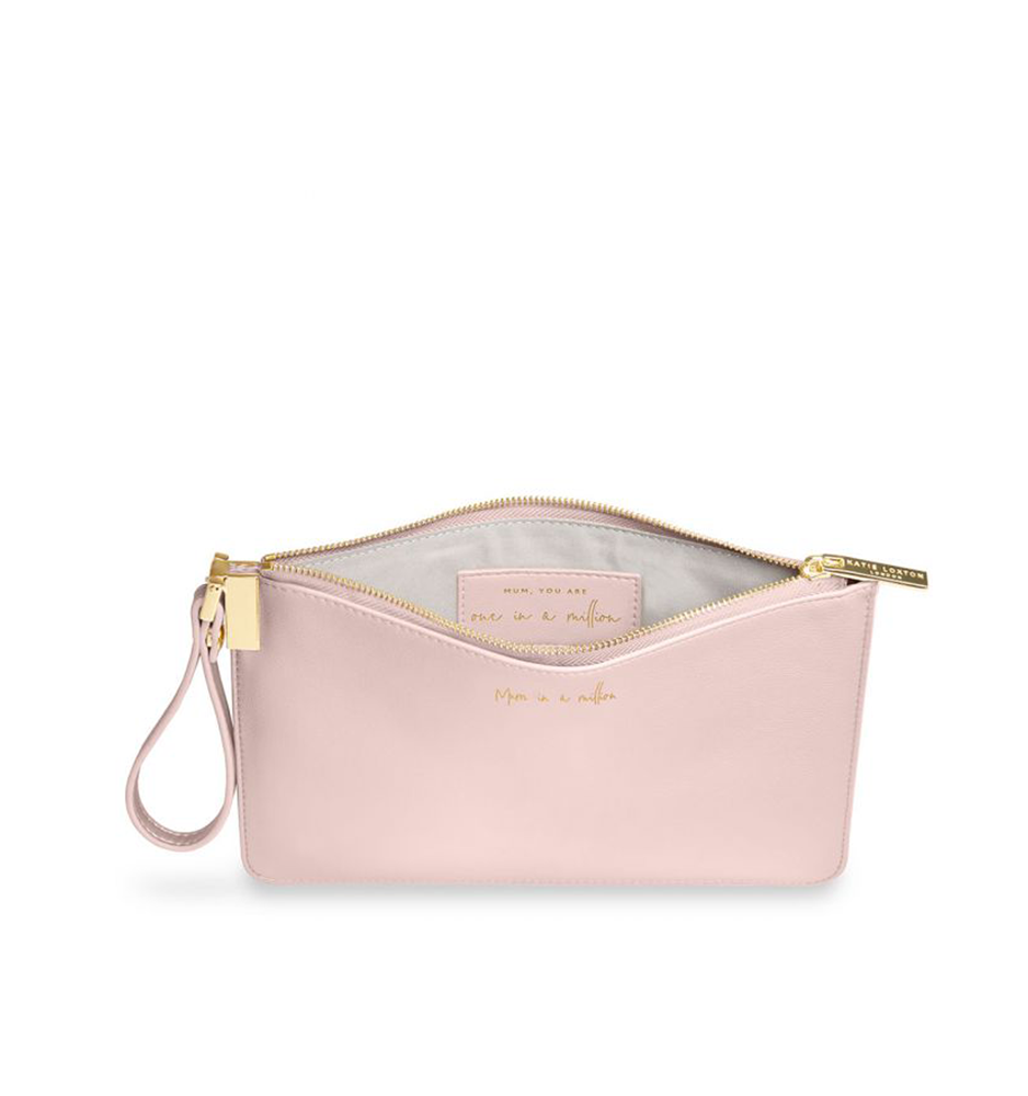 Mum In A Million Pouch, Pink