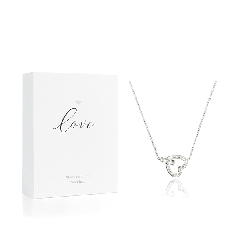 Hearts Jewellery, Heart Necklace, LOVE Silver