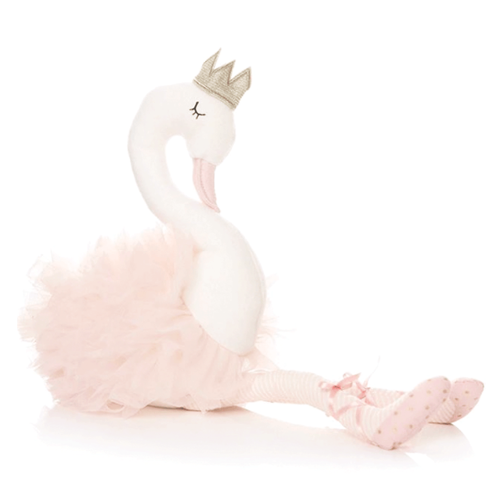Soft Swan With Crown, Baby Girl