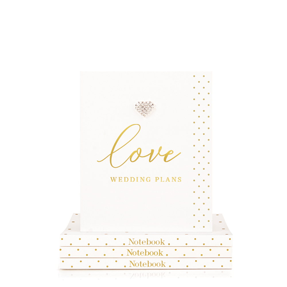 Mad Dots Small Notebook, Love Wedding Plans
