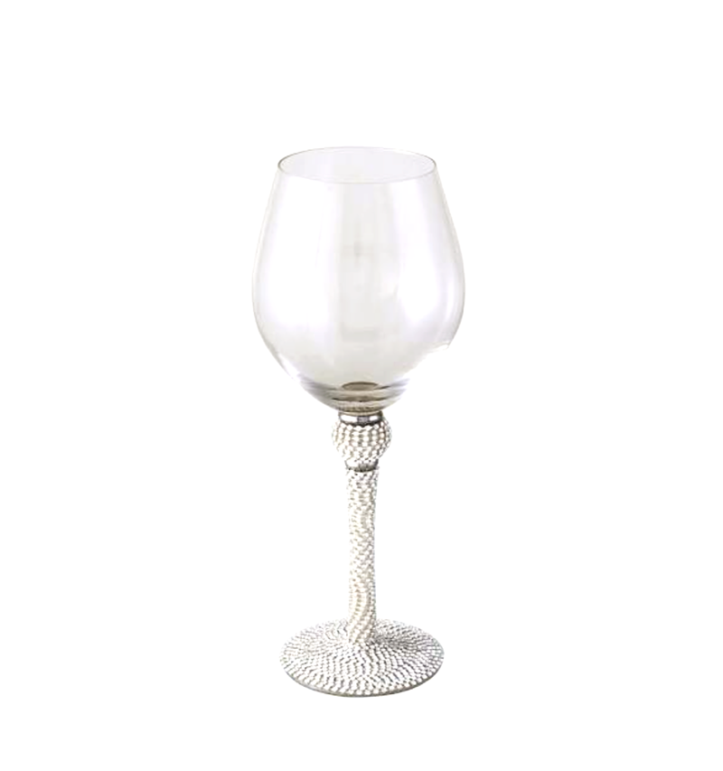 Diamante Wine Glass