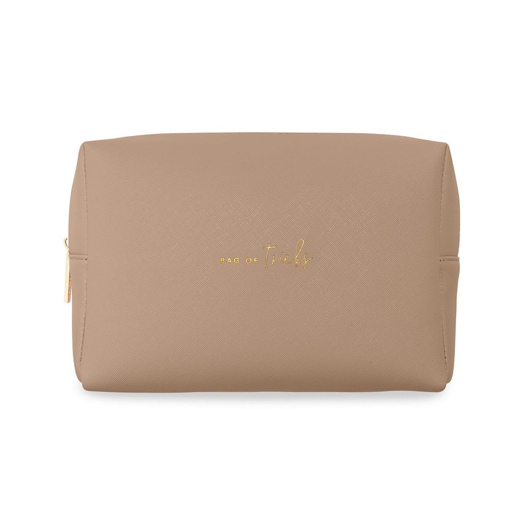 Colour Pop Wash Bag, Taupe