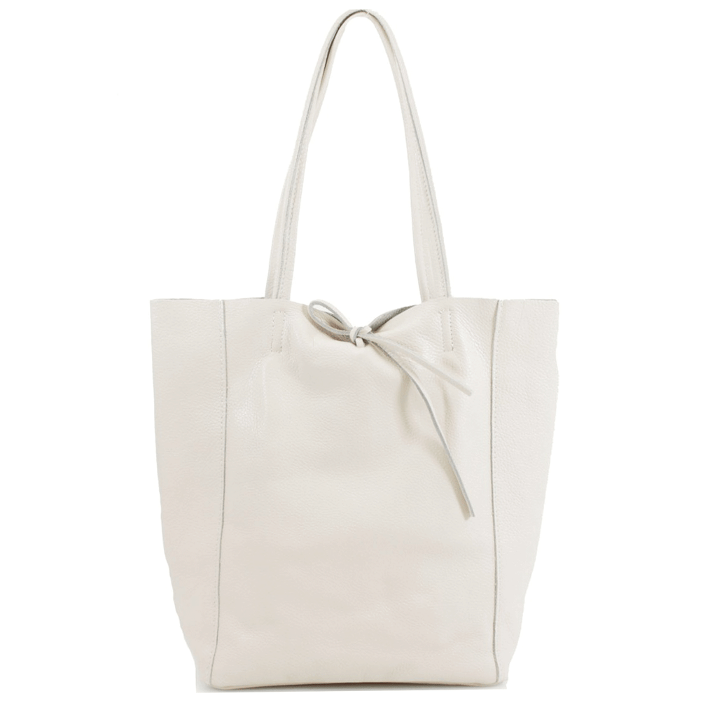 Tilbury Leather Shopper Bag, Warm Stone