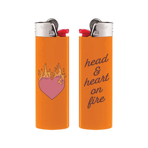 Head & Heart On Fire Lighter