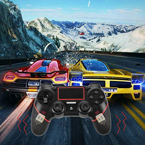 Simsiz- TGJOR PS4 Controller - Bluetooth Gamepad Six Axies DualShock 4  Wireless Controller for PlayStation 4, Touch Panel Joypad with Dual  Vibration