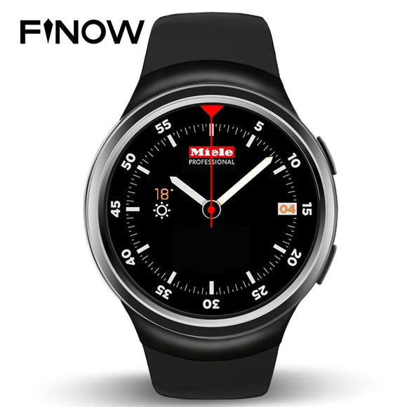 Finow X3 Smart Watch 3G Bluetooth Android Watch Support Heart Rate GPS play store for android & IOS phone
