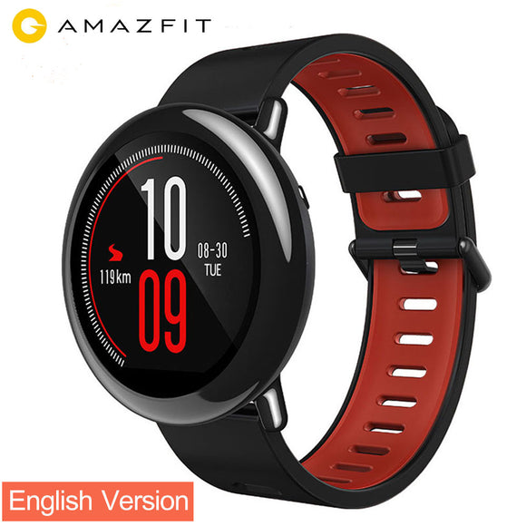 Original Xiaomi Huami AMAZFIT Watch Pace Sports Smart Watch English Version Heart Rate Monitor GPS Bluetooth 4.0 For Android IOS