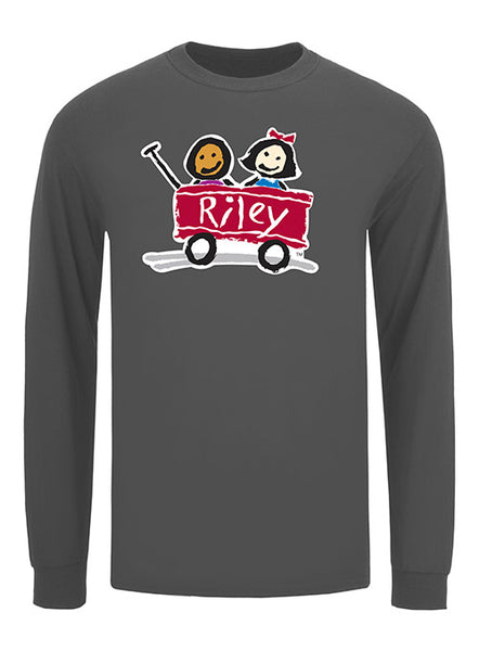Riley Long Sleeve Softstyle Cotton T-Shirt