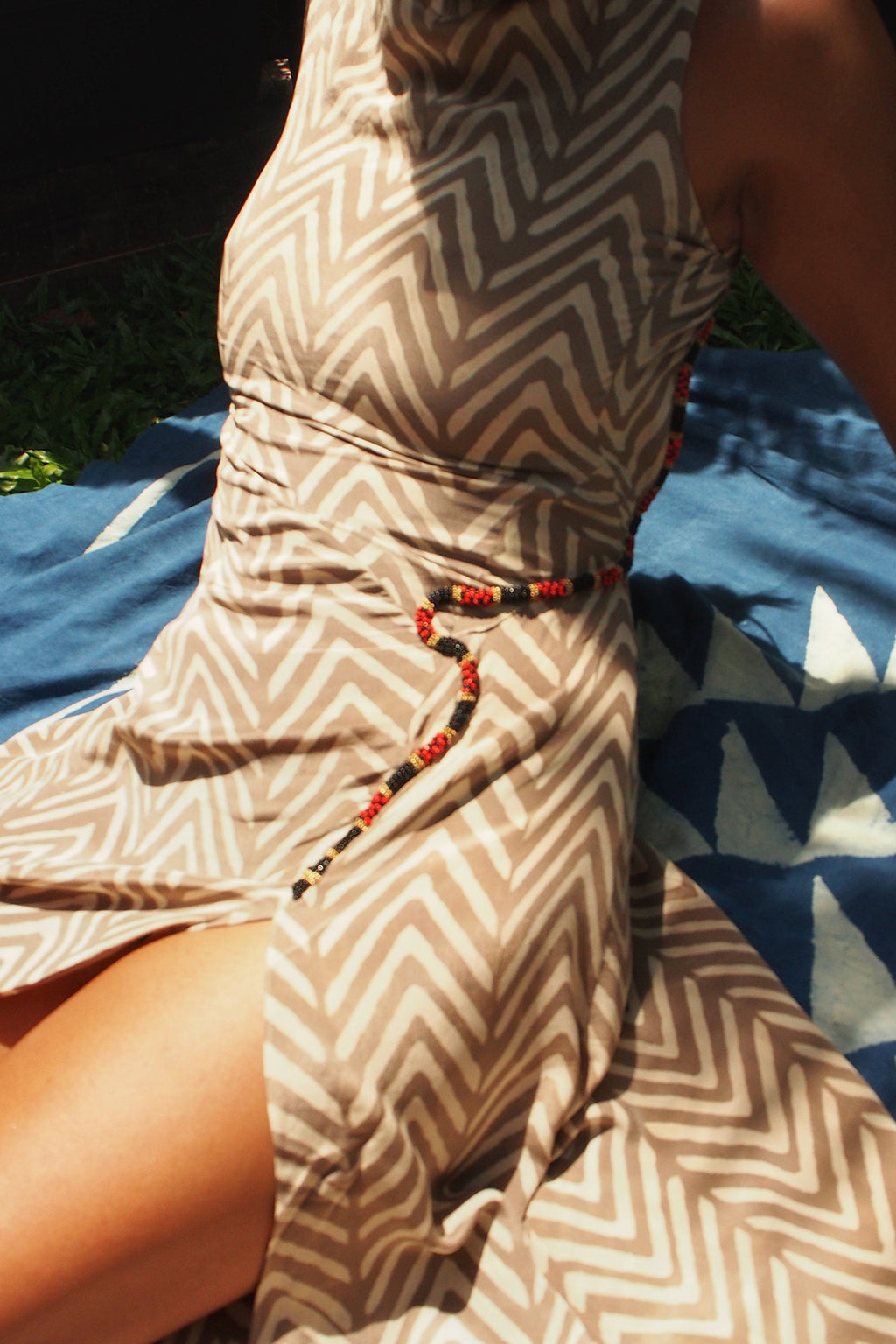 KAA Dress (Grey) Coral Snake